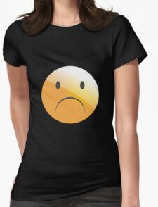 emotion sad Womens Fitted T-Shirt