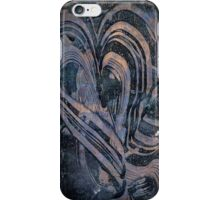 Heart Abstract by Laura L. Leatherwood iPhone Case/Skin