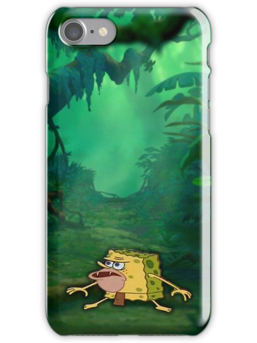 Quot Caveman Spongebob Meme Spongegar Quot Iphone Cases Amp Skins