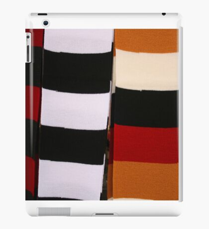 Checkerboard of Knit Scarves iPad Case/Skin
