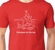Christmas by the sea Unisex T-Shirt