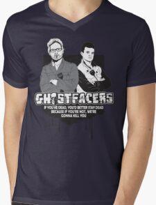 Ghostfacers Mens V-Neck T-Shirt