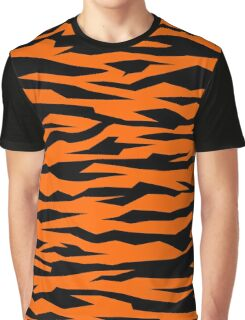 Simple Tiger Skin - Moody. Graphic T-Shirt