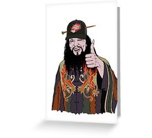 LO PAN NICE GUY - BIG TROUBLE LITTLE CHINA Greeting Card