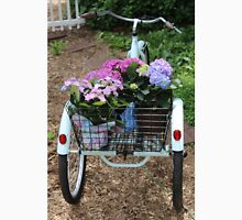 Basket Full Of Hydrangea Flowers Unisex T-Shirt