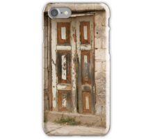 Old Door With Peeling Paint iPhone Case/Skin