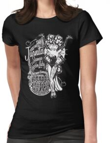 Side Show Freaks - Juanita Siamese Spider Lady Womens Fitted T-Shirt