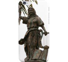 Statue in San Francisco Park iPhone Case/Skin