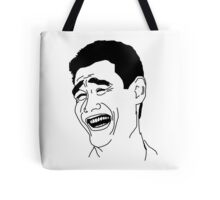 laughing man haha Tote Bag