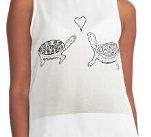 Tortoise Love Contrast Tank