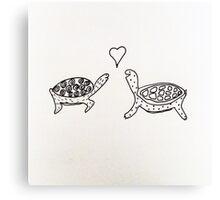 Tortoise Love Canvas Print
