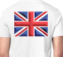 British, Union Jack, Chisel Hard, UK, GB, United Kingdom, Flag, Blighty Unisex T-Shirt