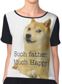Happy Father's Day - Doge Chiffon Top