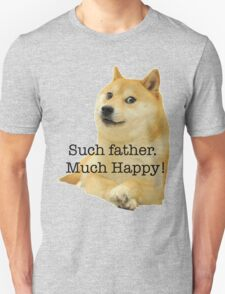 Happy Father's Day - Doge Unisex T-Shirt