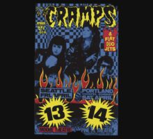 The Cramps (Seattle & Portland shows) Colour Kids Tee