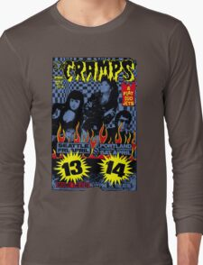 The Cramps (Seattle & Portland shows) Colour Long Sleeve T-Shirt