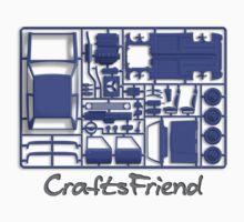 Craftsfriend - Model Car Kit One Piece - Short Sleeve