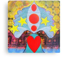 """ UNION "" Canvas Print"