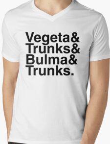 Vegeta & Trunks Mens V-Neck T-Shirt