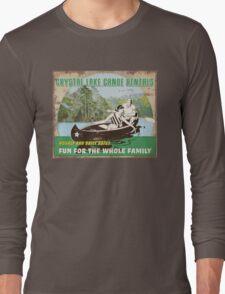 Crystal Lake Canoe Rentals Long Sleeve T-Shirt