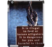 Alligator Bait iPad Case/Skin