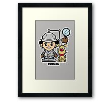 Lil Gadget Framed Print