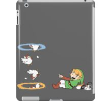 Thinking with Chickens iPad Case/Skin