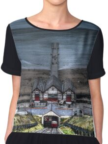 Saltburn by the Sea Chiffon Top