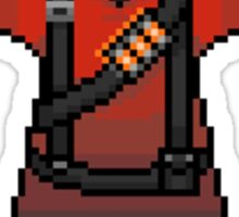Red Pyro sticker Sticker
