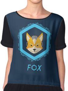 Fox Chiffon Top
