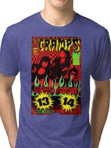 The Cramps (Seattle & Portland shows) Colour 2 Tri-blend T-Shirt