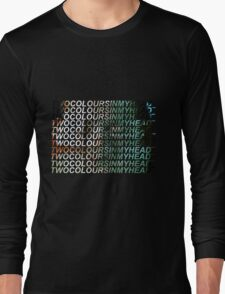 Radiohead - Two Colours In My Head Long Sleeve T-Shirt