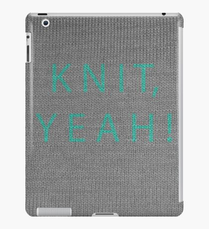 Knit, yeah! iPad Case/Skin