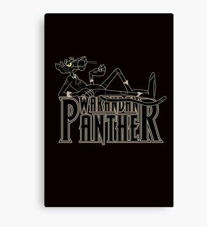 Wakandan Panther Canvas Print