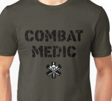 Combat Medic in tan Unisex T-Shirt