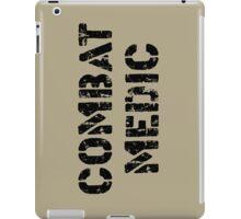 Combat Medic in tan iPad Case/Skin