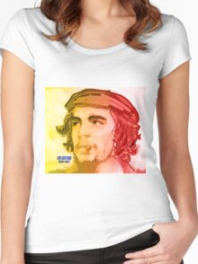 El Che Women's Fitted Scoop T-Shirt