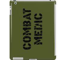 Combat Medic in olive drab iPad Case/Skin