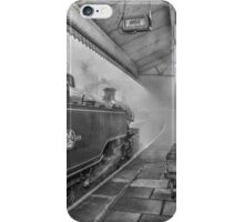 The Train Now Leaving ... iPhone Case/Skin