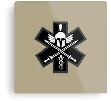 Combat Medic Emblem Metal Print