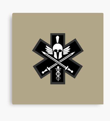 Combat Medic Emblem Canvas Print