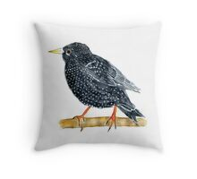 Starling Throw Pillow