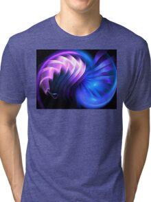 Blue Space Mollusk Tri-blend T-Shirt