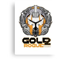 Star Wars GOLD 2 Rogue Warrior  Canvas Print