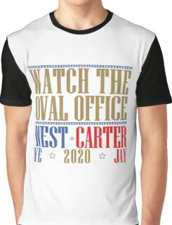 Watch The Oval Office - Multicolored Graphic T-Shirt