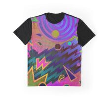 Retro Mania 80's Abstract Graphic T-Shirt