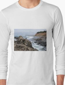 San Simeon CA Coastal I Long Sleeve T-Shirt