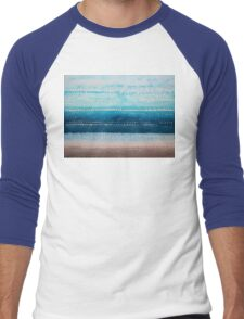 It's Got to Be the Water original painting Men's Baseball ¾ T-Shirt