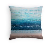 It's Got to Be the Water original painting Throw Pillow