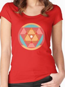 Geometric Design #4 Women's Fitted Scoop T-Shirt